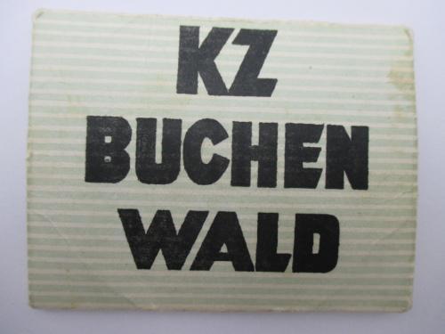 Набор открыток Бухенвальд KZ Buchenwald ГДР Германия.