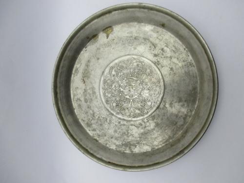 Тарелка латунь Москва