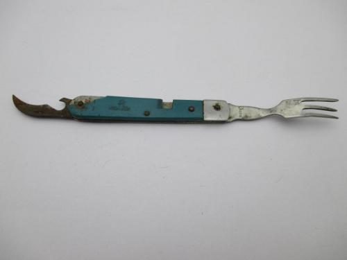 Вилка Нож часть походного набора Москва Стиз