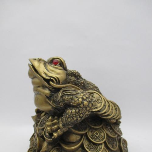 Жаба трехлапая Денежная жаба большая фэн шуй