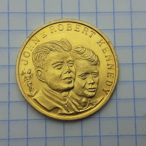 Жетон Джон и Роберт Кеннеди