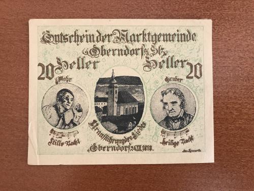 Нотгельд, Германия, 1920 г., 30 декабря