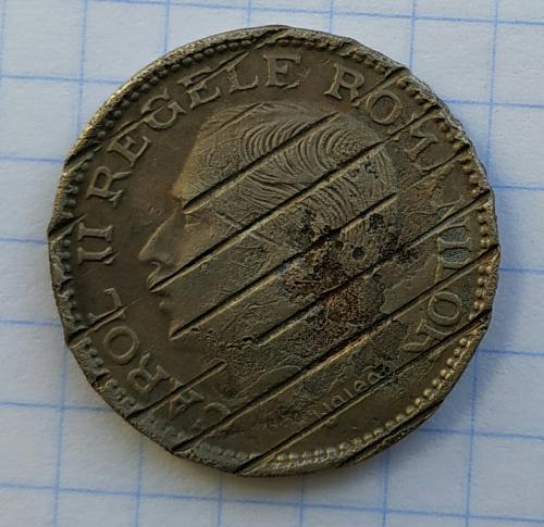 100 лей 1936г гашеная