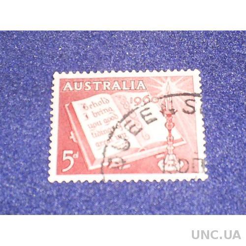 Австралия-1960 г.-Рождество, Библия (одиночка)