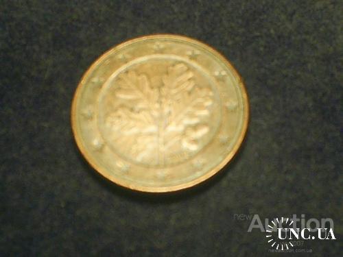Германия-2002 г.-5 евроцентов (D)