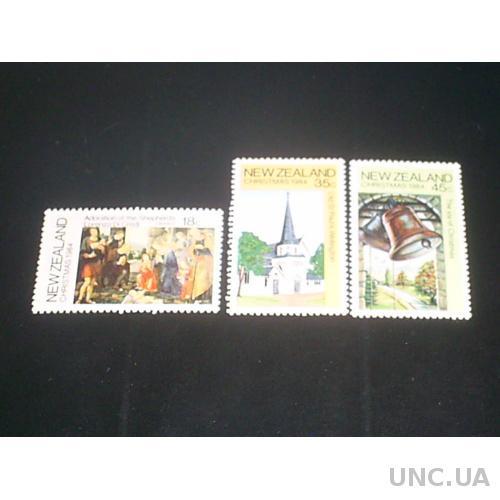Новая Зеландия**-1984 г.-Рождество (полная)