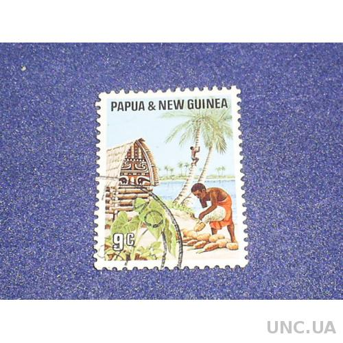 Папуа Новая Гвинея-1971 г.-Быт аборигенов