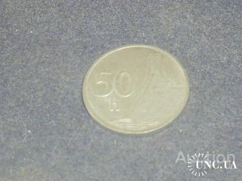 Словакия-1993 г.-50 гелеров