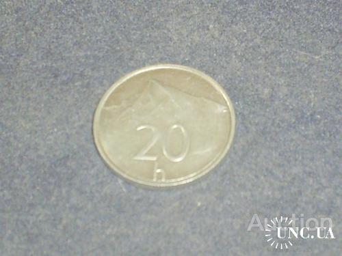 Словакия-1996 г.-20 гелеров