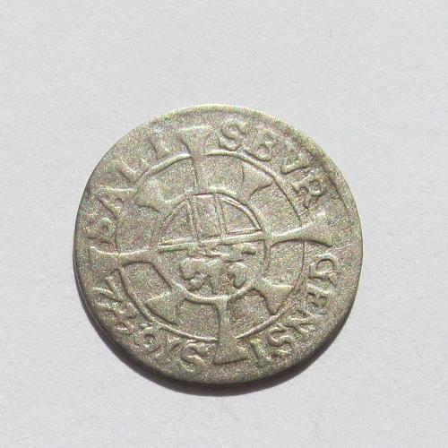 1 крейцер 1642 Зальцбург Архиепископ Парис граф фон Лодрон