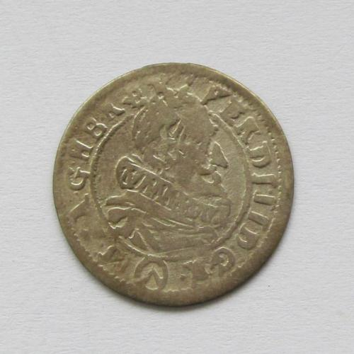 3 крейцера 1624 г. Фердинанд II, Австрия