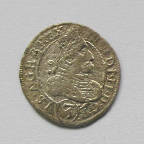 3 крейцера 1629 г. Фердинанд II, Австрия, Штирия
