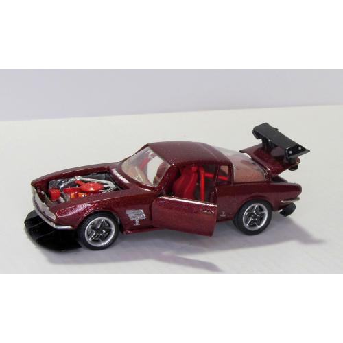 Авторская конверсия Ford Mustang 2+2, GT Drag Racing, Hot Rod Bertone 1965, made in USSR, 1:43