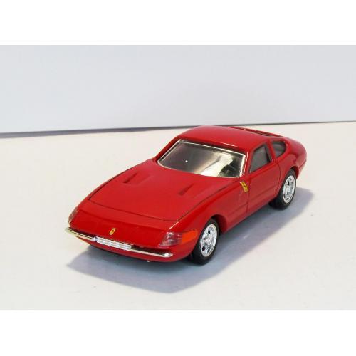 Ferrari 365 GTB/4 Daytona 1967 red красный RIO made in Italy 1:43 бокс