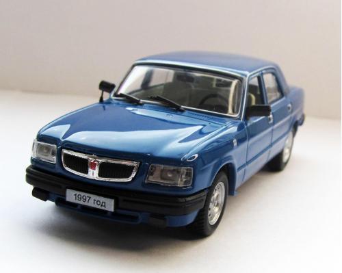 ГАЗ 3110 Волга, синий, Наш Автопром P102 1:43 коробка