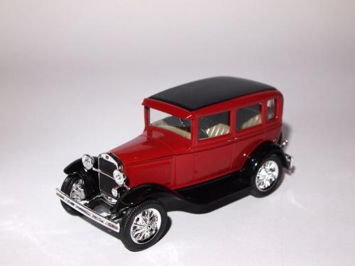 ГАЗ-6, красный, Наш Автопром H156a 1:43 коробка