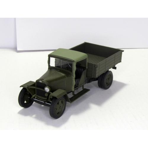 Газ MM 1941 хаки военный Наш Автопром H281 1:43 коробка