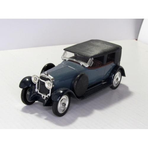 Hispano Suiza H6B 1926 6 CYL Solido Made In France, 1:43, сделано во Франции в 1980-е