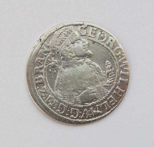 Орт 1624г Георг Вильгельм Пруссия, г. Бранденбург