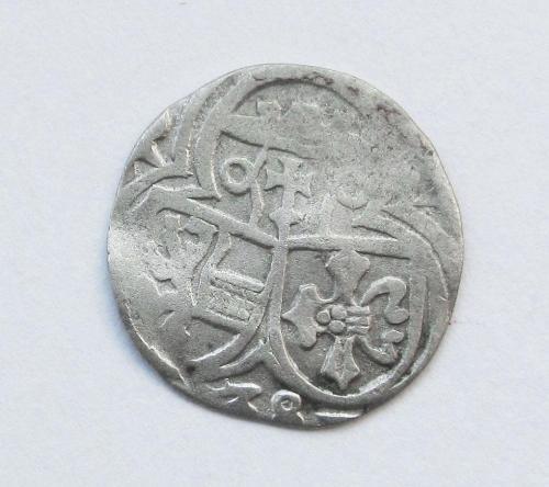 Пфеннинг 1528 Зальцбург Маттеус Ланг фон Велленбург