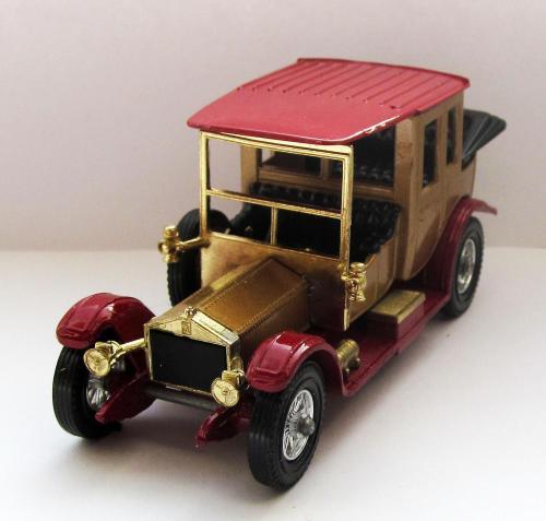 Rolls Royce 1912 Matchbox Y- 7 England 1973 1:48 коробка