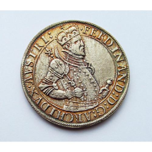 Талер Фердинанд Тирольский 1564-1595г, Австрия, Тироль