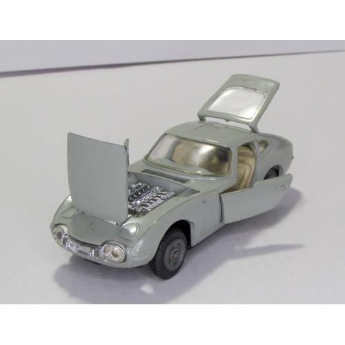 Toyota 2000 GT A29 серая ремейк сделано в СССР 1:43