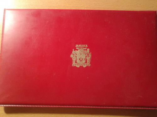 Набор из 7 монет 1972 года Ямайка. Есть сертификат.