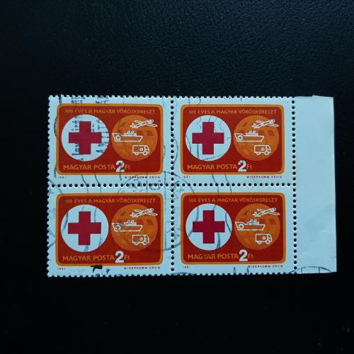 1981 Красный крест квартблок
