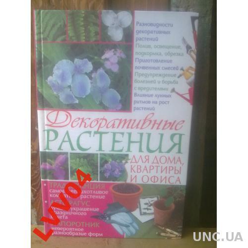 Декоративные растения для дома, квартиры, офиса
