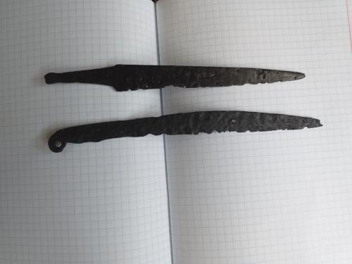 Два скифских боевых ножа