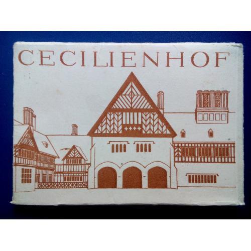 Цецилиенхоф — дворец Потсдамской конференции 1945 года  Комплект 10 шт. ГДР