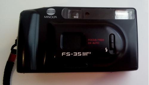 Фотоаппарат Minolta FS-35  Пленочный Фото