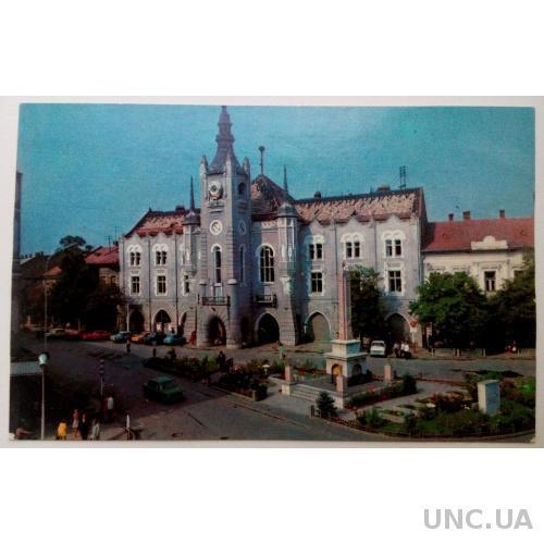 Мукачево. Здание бывшей ратуши. 1984г. Фото Хмари.