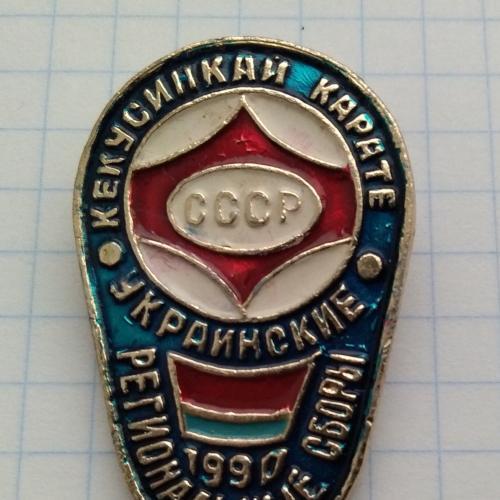 Карате Кекусинкай СССР Украинские региональные сборы 1990