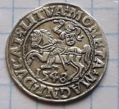 Полугрош 1548 год