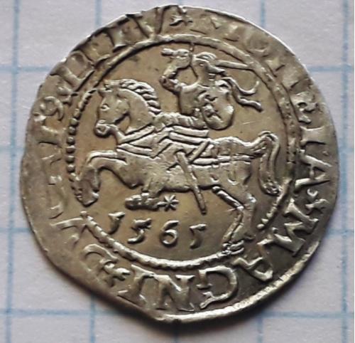Полугрош 1565 год