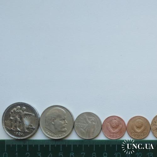 Монеты СССР, РФ