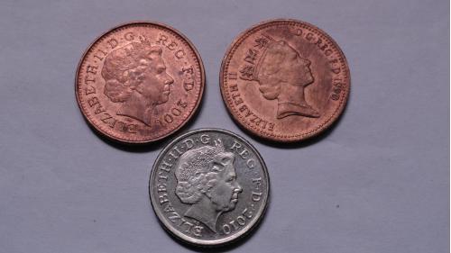Англия 3 монеты