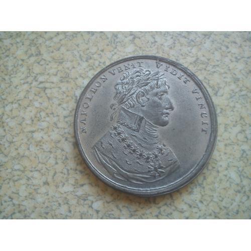 настольная медаль-1805г.Наполеон.