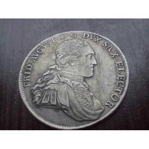 талер-1797г.Саксония(Фридрих.Август)