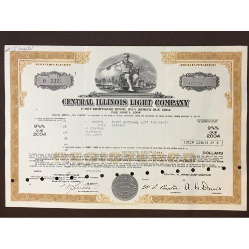 Central Illinois Light Company  - Ипотечная облигация - Америка - 2004 г.