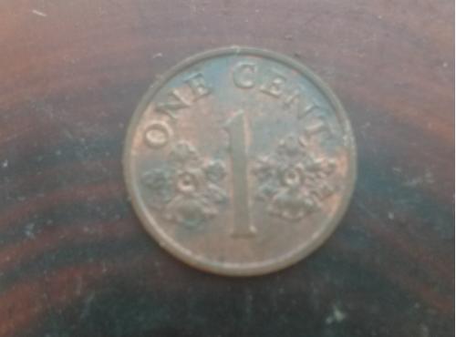 Один цент Сингапура