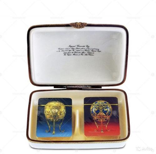 Faberge 6500-57 Шкатулка с картами оригинал