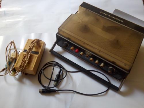 Бабинный магнитофон Орбита 303