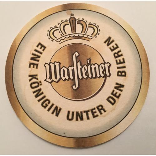 Бирдекель костер — Warsteiner — Германия