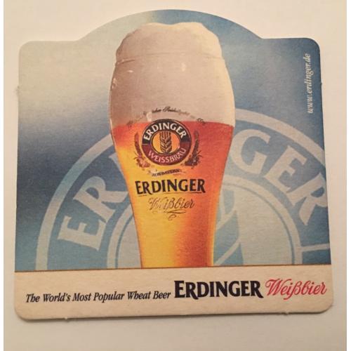 Бирдекель костер — Erdinger Weissbier — Германия