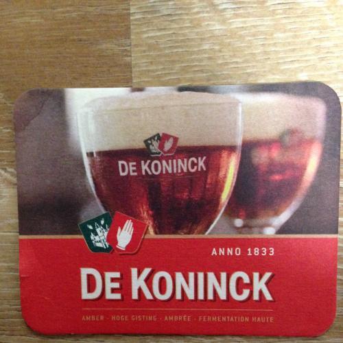 Бирдекель костер — De Koninck - Амстердам.