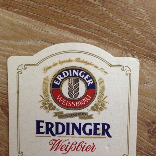 Бирдекель костер — Erdinger. - Германия.