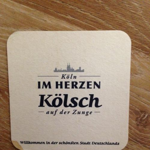 Бирдекель костер — Kolsch. - Германия.